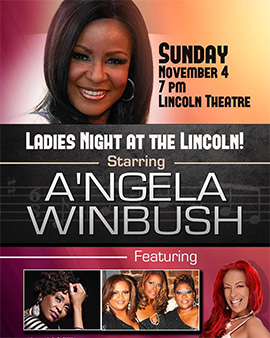 Shadz of Soul at the Lincoln with Angela Winbush
