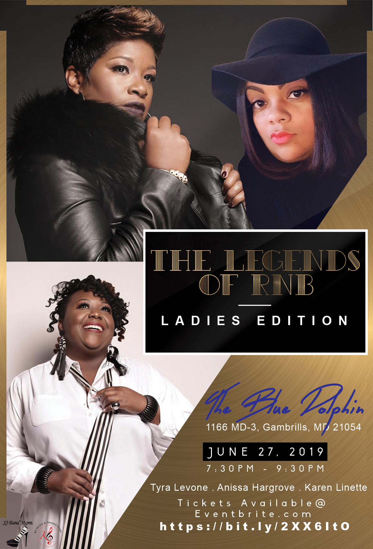 Legends of R&B Ladies Edition flyer