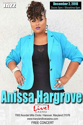 Anissa Hargrove at Maryland Live Casino